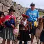 Cuzco with the locals