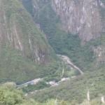 View from machu picchu 2013